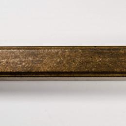 SCO945/715 20x25 - delikatna postarzana brązowa rama do zdjęć i obrazów od góry