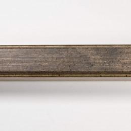 SCO945/718 20x25 - delikatna postarzana ciemno brązowa rama do zdjęć i obrazów od góry