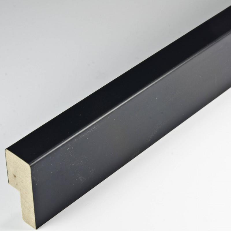 SCO2009/51 14x35 - czarna głęboka ramka do zdjęć i obrazów