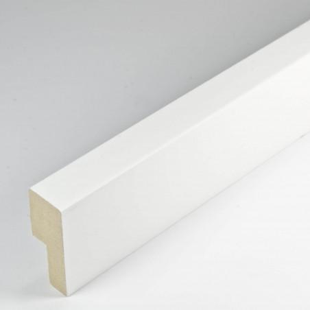 INK9016.686 33x13 - drewniana beżowa rama - wkładka do obrazów i luster