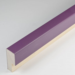 SCO2009/758 14x35 - fioletowa głęboka ramka do zdjęć i obrazów od środka
