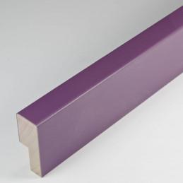 SCO2009/758 14x35 - fioletowa głęboka ramka do zdjęć i obrazów