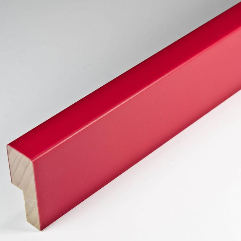 SCO2009/762 14x35 - czerwona głęboka ramka do zdjęć i obrazów