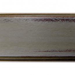BOE176.73.052 75x30 - szeroka szara przecierana rama do obrazów 2