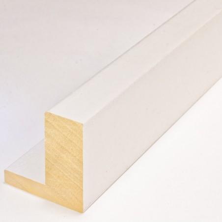INK2121.182 55x60 - american box biała matowa rama do obrazów