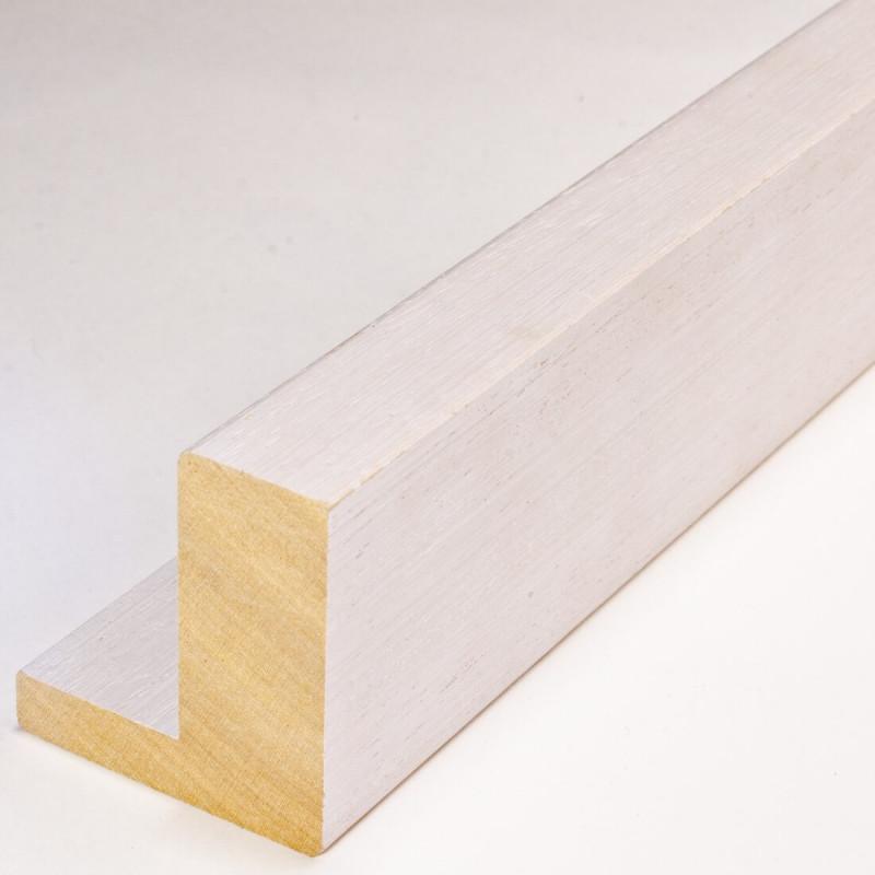 INK2121.485 55x60 - american box biała drapana rama do obrazów
