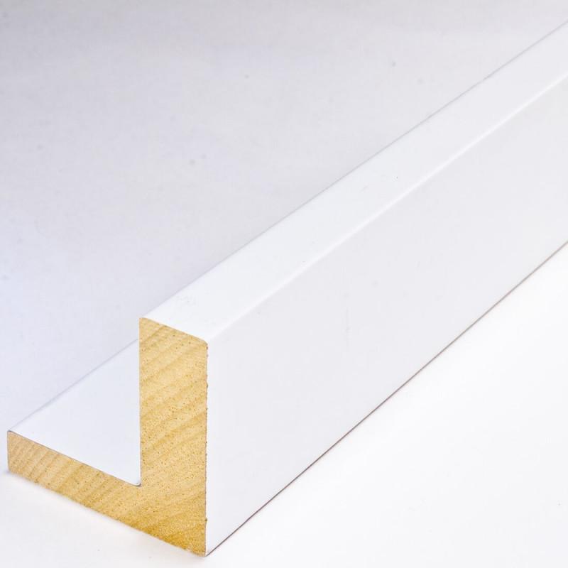 INK2137.181 55x55 - american box białą rama do obrazów