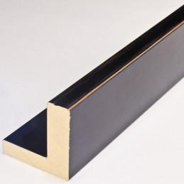 INK2137.471 55x55 - american box czarna lakierowana rama do obrazów