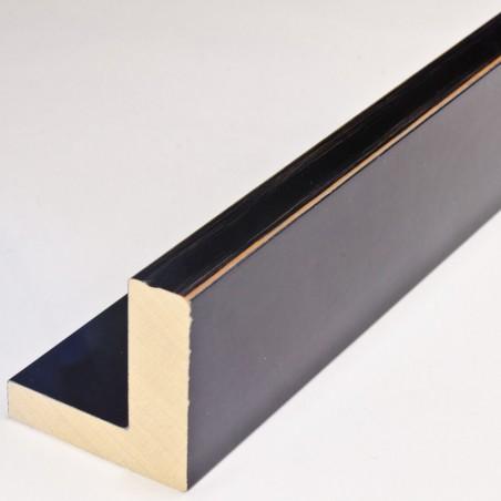 INK2137.471 55x55 - american box czarna lakierowana z przetartymi brzegami