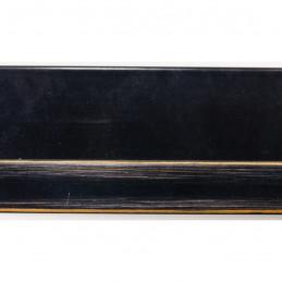 INK2137.471 55x55 - american box czarna lakierowana rama do obrazów 2