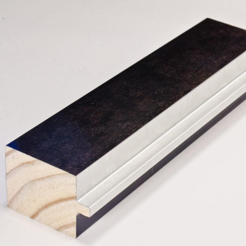INK4413.629 54x39 - rama wenge  z srebrnym schodkiem