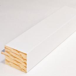 INK4413.681 54x39 - biała matowa rama z srebrnym schodkiem 1