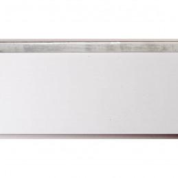 INK4413.681 54x39 - biała matowa rama z srebrnym schodkiem 2