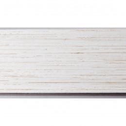 INK4642.985 41x46 - biała drapana rama do obrazów i luster 2