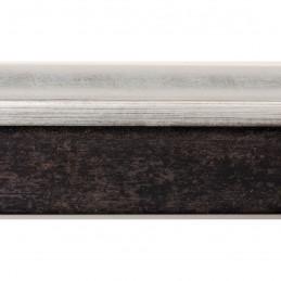 INK5113.629 32x38 - rama wenge  ze srebrnym brzegiem 2