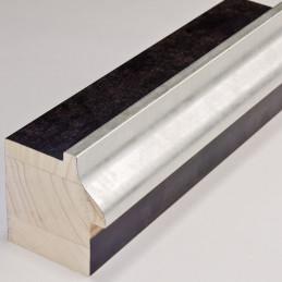 INK5115.629 55x60 - rama wenge ze srebrnym brzegiem
