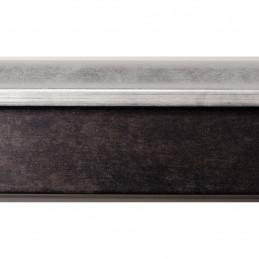 INK5115.629 55x60 - rama wenge ze srebrnym brzegiem 2