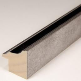 INK5282.615 22x24 - ramka metalizowana antracyt ze srebrnym brzegiem 1
