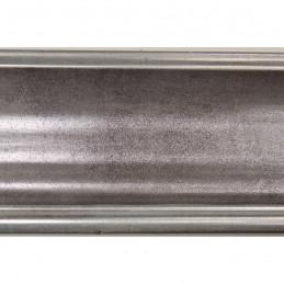 INK5285.614 55x30 - szara ramka metalizowana ze srebrnymi brzegami 2
