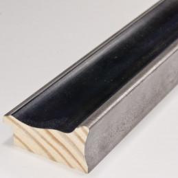 INK5285.615 55x30 - rama metalizowana antracyt ze srebrnymi brzegami 1