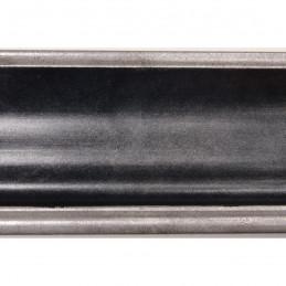INK5285.615 55x30 - rama metalizowana antracyt ze srebrnymi brzegami 2