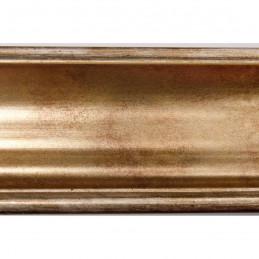 INK5285.714 55x30 - rama metalizowana złota ze złotą przecierką 2