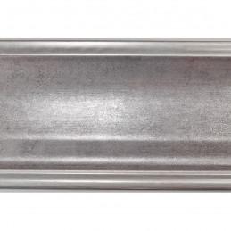 INK5289.614 90x30 - dużą szara rama metalizowana ze srebrnymi brzegami 2
