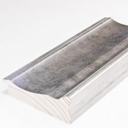 INK5289.614 90x30 - dużą szara rama metalizowana ze srebrnymi brzegami 1