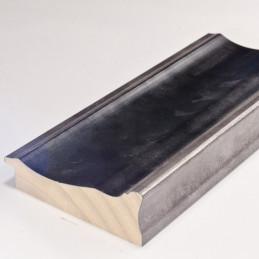 INK5289.615 90x30 - duża rama antracytowa metalizowana ze srebrnymi brzegami 1