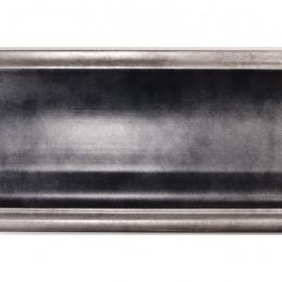 INK5289.615 90x30 - duża rama antracytowa metalizowana ze srebrnymi brzegami 2