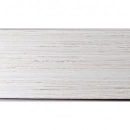 INK5560.985 55x60 - biała drapana rama do obrazów i luster 2