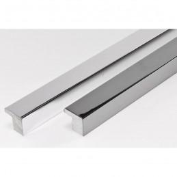 SCO2010/47 15x14 - ciemno srebrna ramka laminowana wysoki połysk porównanie