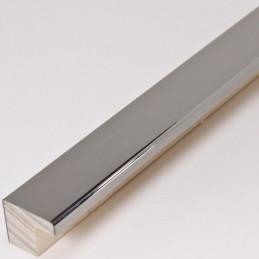 SCO2010/47 15x14 - ciemno srebrna ramka laminowana wysoki połysk 1