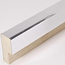 SCO788/46 20x52 - jasno srebrna rama laminowana wysoki połysk
