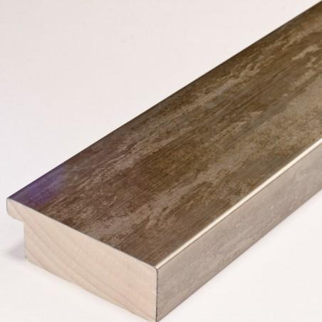 SCO333/106 62x21 - kamień metalizowany postarzany mosiądz rama do obrazów