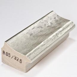 SCO805/325 44x32 - jasna srebrna rama do obrazów i luster 1