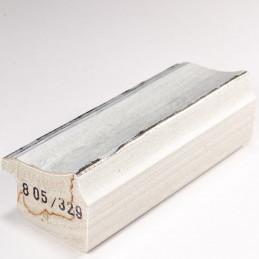 SCO805/329 44x32 - biała rama do obrazów i luster