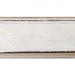 SCO805/329 44x32 - biała rama do obrazów i luster 2