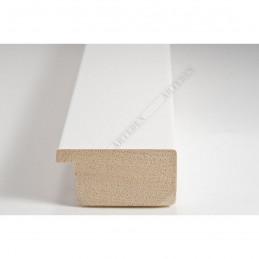 ABI366/30  40x20 - drewniana biała lak rama do obrazów i luster sample1