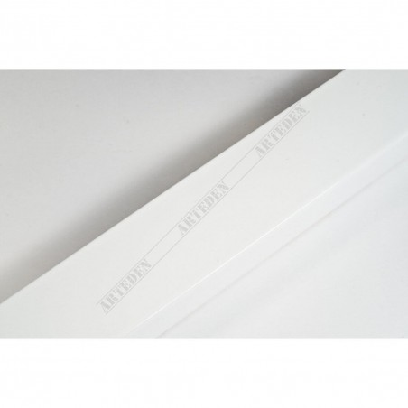 ASO148.83.009  40x15 - biała matowa rama do obrazów i luster