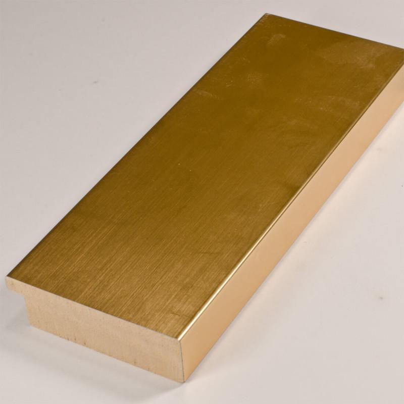 ASO327.83.031 68x20 - szeroka złota rama do obrazów i luster
