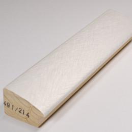 SCO491/214 45x30 - biała laminowana rama do obrazów i luster drapana 2