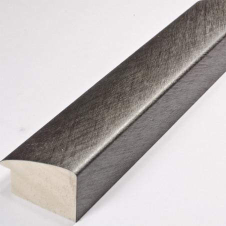 SCO491/317 45x30 - ciemna srebrna laminowana rama do obrazów drapana