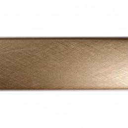 SCO491/318 45x30 - złota laminowana rama do obrazów drapana 3