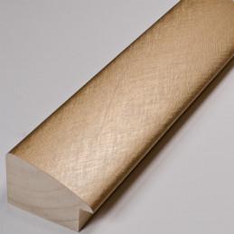 SCO491/318 45x30 - złota laminowana rama do obrazów drapana 2