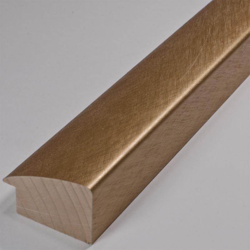 SCO491/318 45x30 - złota laminowana rama do obrazów drapana