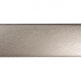 SCO491/319 45x30 - jasna srebrna laminowana rama do obrazów drapana 3