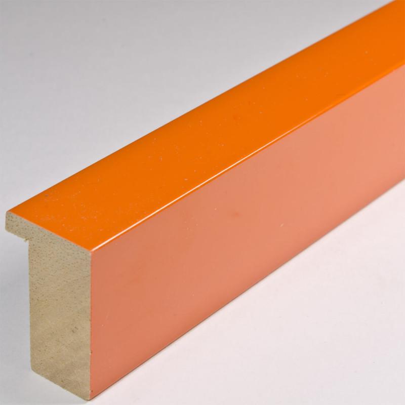 ASO107.63.010 20x32 - pomarańczowa lakierowana blejtramówka do zdjęć i obrazów