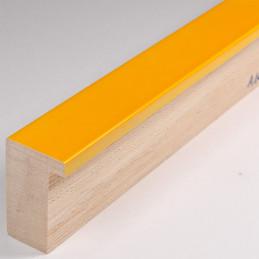 ASO107.63.074 20x32 - żółta lakierowana blejtramówka do zdjęć i obrazów 2