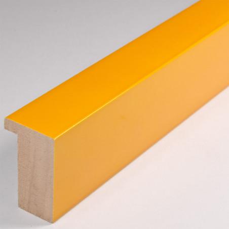 ASO107.63.074 20x32 - żółta lakierowana blejtramówka do zdjęć i obrazów